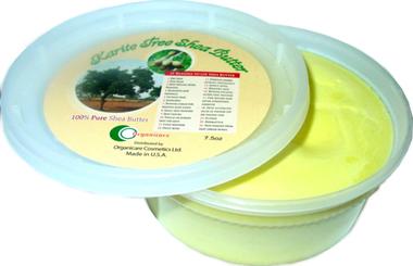 Karite Tree Shea Pure Shea Butter Jar Cream 8 oz