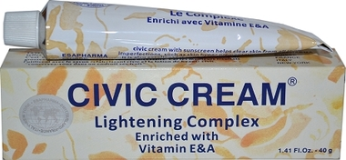 Civic Lightening Complex(Hologram) Tube Cream 1.41 oz / 40 g