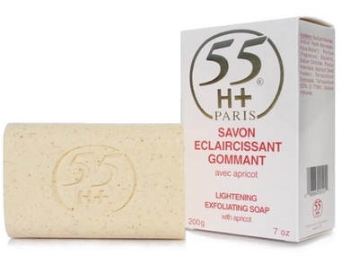 55H+ Soap Gommant Lightening Exfoliating 7 oz / 200 g