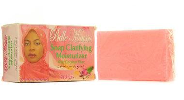 Belle Mousso Clarifying Moisturizing Soap with Coconut fiber 12.35 oz / 350 ml