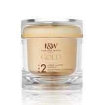 Fair & White Gold Jar Cream #2 Exceptional Clarifying 6.76 oz / 200ml
