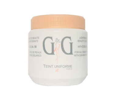 G&G D.S.N. 56 Lightening Jar Cream (Pink) 17.6 oz / 500 g