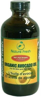 Nature Fresh 100% Pure Organic Avocado Oil 8oz