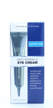 Claudia Stevens Eye Fix Mix Anti-Wrinkle Eye Cream 1oz/30ml