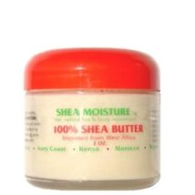 Shea Moisture 100% Shea Butter Jar 2oz / 60ml