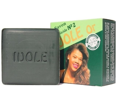 Medicated Soaps: Idole Gold(Green) soap 100g 3.3oz.