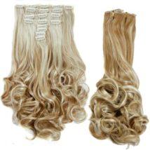Graceful Women's Medium Curly High Temperature Fiber Hair Extension