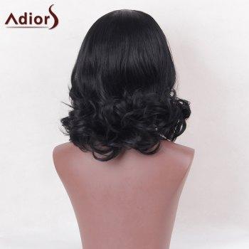 Adiors Center Part Short Curly Bob Synthetic Wig