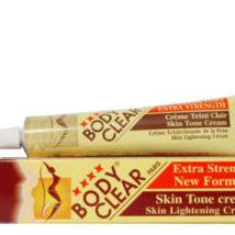 Body Clear Paris Skin Lightening Cream 1.76oz/50g