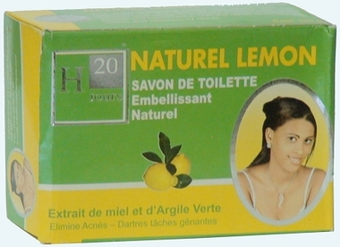 H20 Natural Whitening Lemon Soap 7.5 oz / 225 g