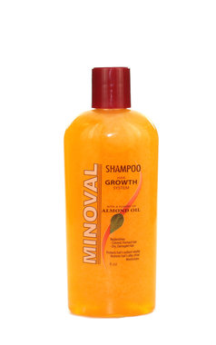 Minoval Shampoo Hair Growth System with Almond Oil 8oz / 240ml