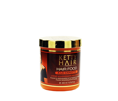 Ketty Hair Hair Food Carotte 6.78 oz / 200 ml
