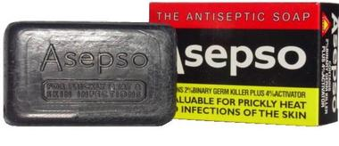 Asepso Prickly Heat Antiseptic Soap 3 oz / 80 g