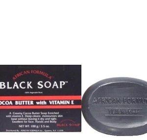 African Formular Black Cocoa Butter Soap 3.5 oz / 100 g
