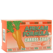 African Formular Carrot Soap 3 oz / 85 g