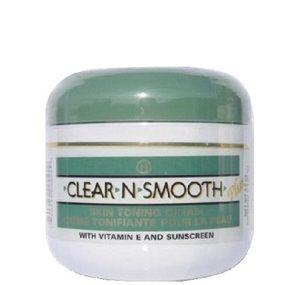 Clear-N-Smooth Skin Toning Jar Cream(Green) 4 oz