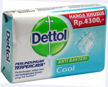 Dettole Cool Soap 4 oz / 110 g