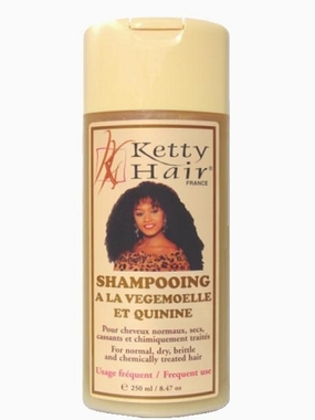 Ketty Hair Shampoo Vegetable & Quinquina 8.47 oz / 250 ml