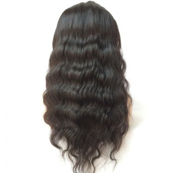Long Middle Parting Lace Front Body Wave Human Hair Wig