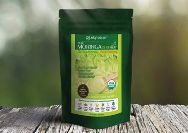 All Of Nature Moringa Oleifera Natural Organic Orange Cranberry Tea 30 Bags