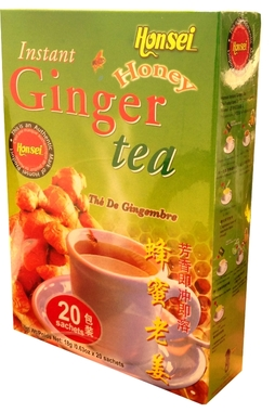 Honsei Ginger Tea Honey 360g /12oz