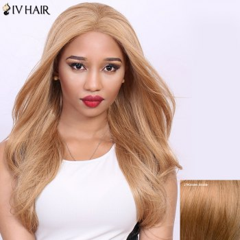 Stunning Long Straight Real Natural Hair Siv Wig