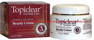 Topiclear Beauty Jar Cream With Caviar 3.7 oz / 100 ml