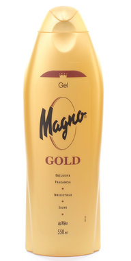 Magno Gold Shower Bath Gel 18.5 oz / 550 ml