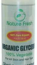 Nature Fresh Glycerin 100% Pure Organic 8oz / 240g