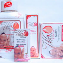 White Express 4pcs Lightening Lotion Cream Soap and Serum.
