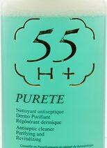55H+ Cleaner Purete Anticeptic 16.8 oz /500 ml