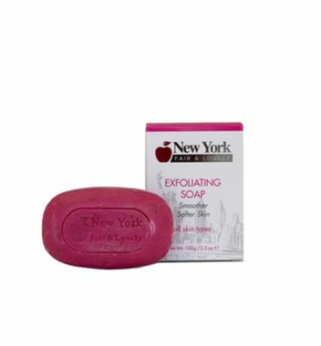 New York Fair & Lovely Exfoliating Soap 100g / 3.5oz